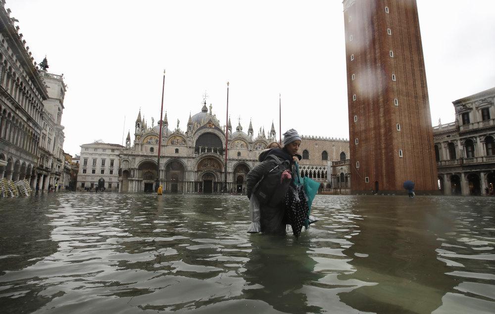 Οι πλημμύρες τον περασμένο Νοέμβριο στη Βενετία ήταν οι χειρότερες των τελευταίων πενήντα χρόνων.