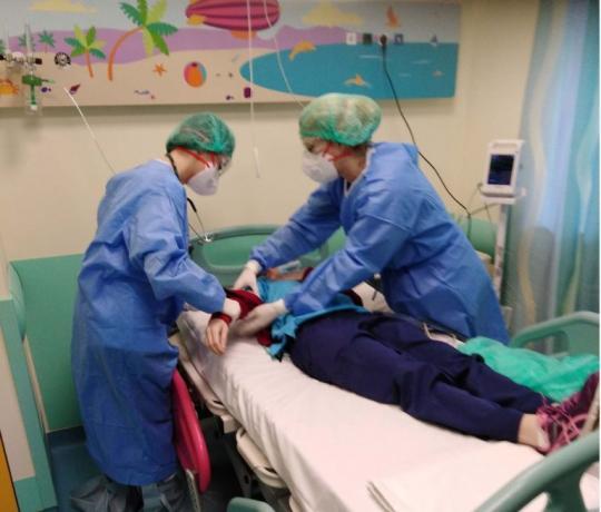 Άσκηση ετοιμότητας για την αντιμετώπιση ύποπτου παιδιατρικού περιστατικού του κορωνοϊού