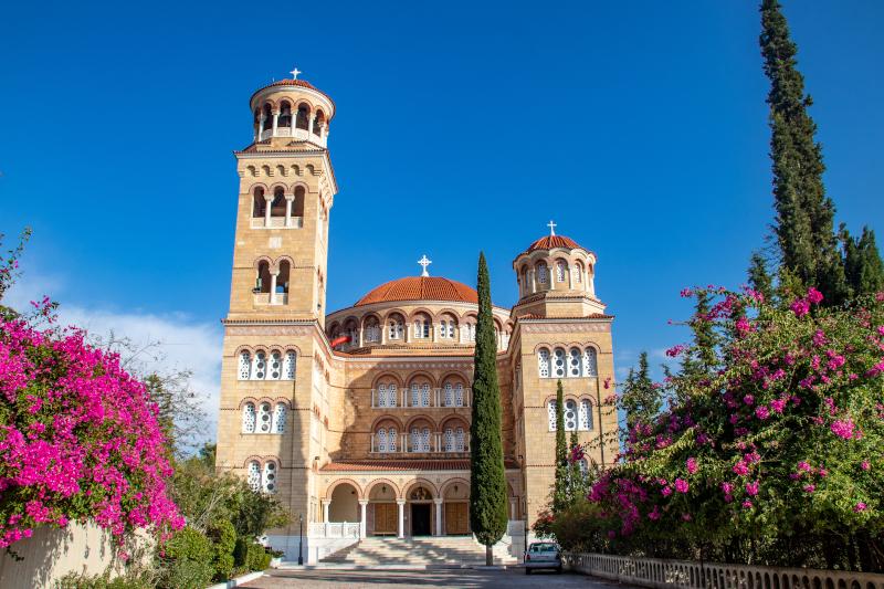 Η εκκλησία του Αγίου Νεκταρίου στην Αίγινα