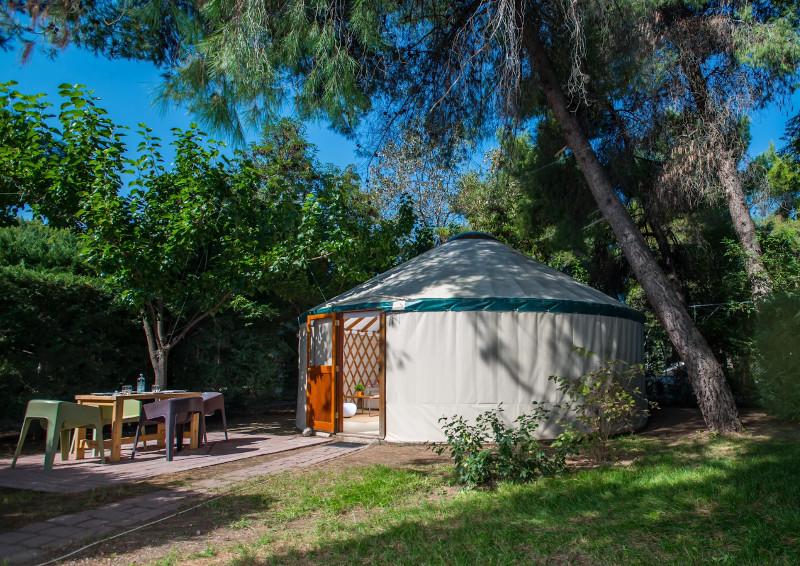Yurt στην Αγία Αννα
