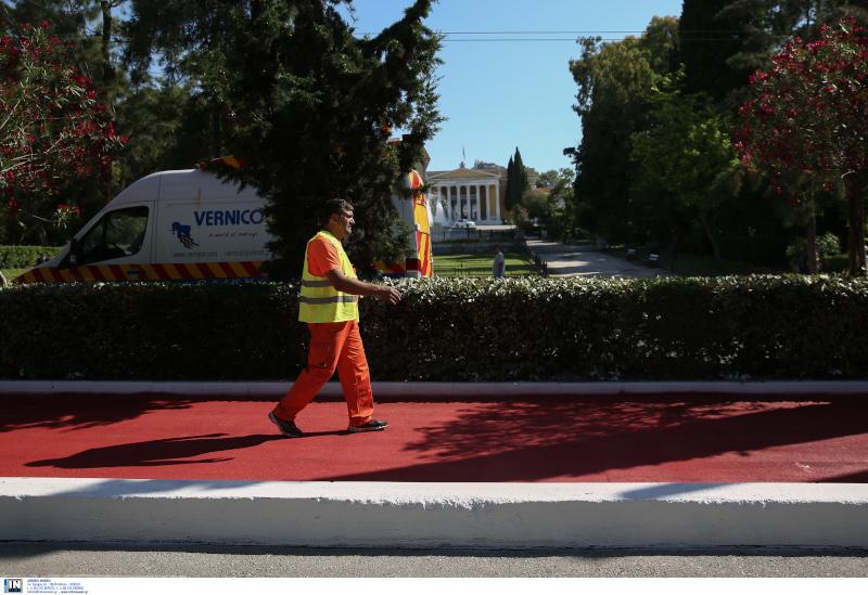Μεγάλος Περίπατος της Αθήνας εργασίες