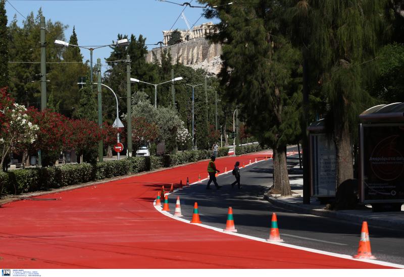 Μεγάλος Περίπατος της Αθήνας Βασιλίσσης Όλγας
