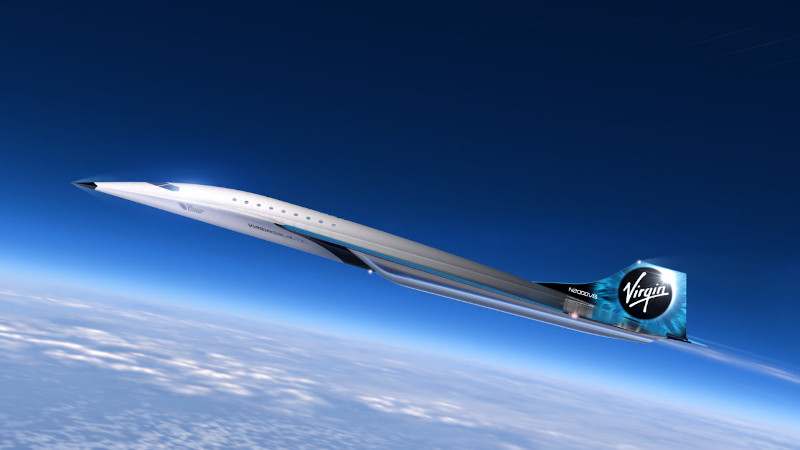 Στόχος της Virgin Galactic είναι το υπερηχητικό τζετ της να πετά από το Λονδίνο στο Πεκίνο σε μόλις 2,2 ώρες!