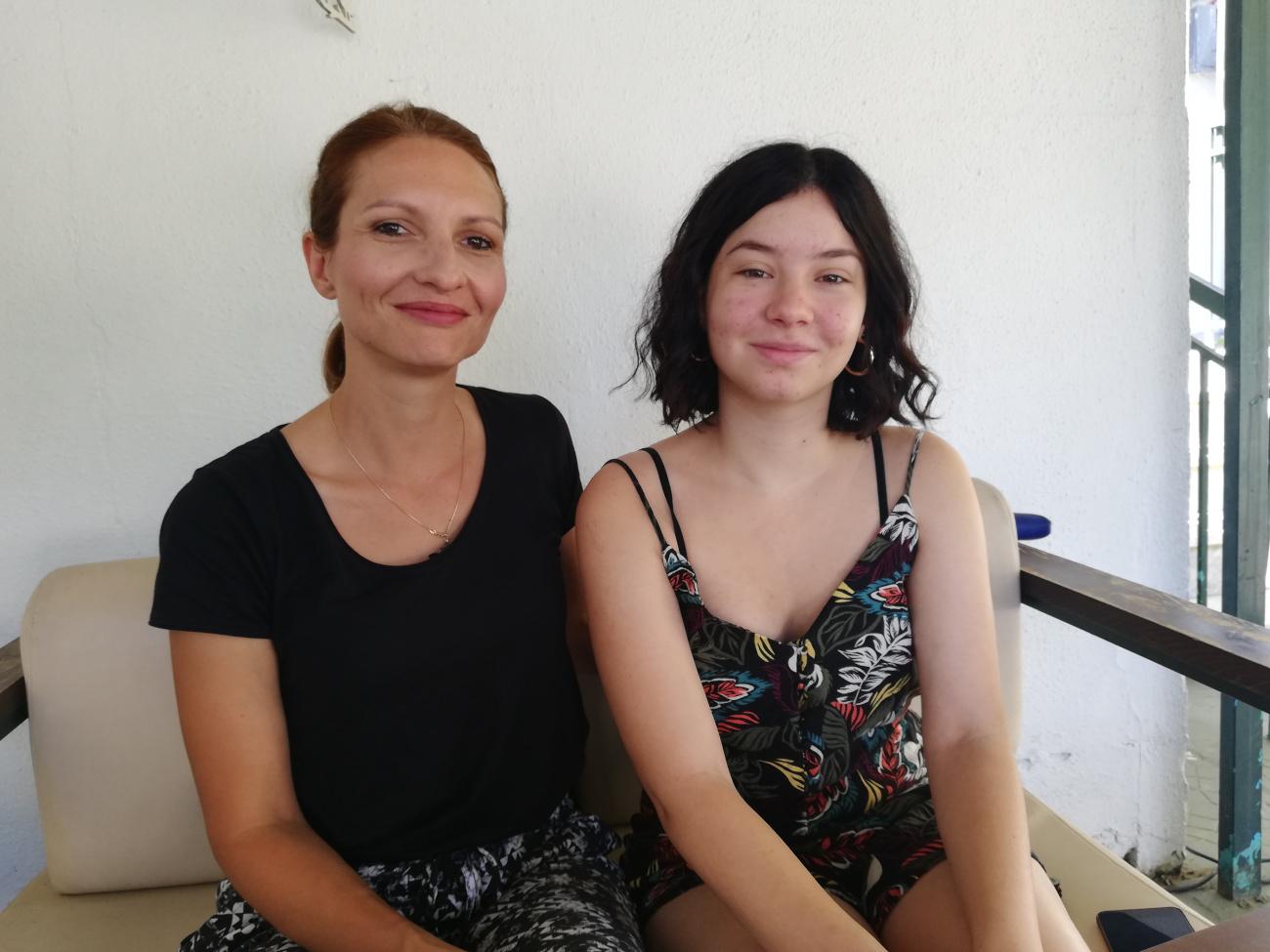 μαμα και κορη