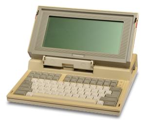 Ο πρώτος φορητός υπολογιστής της Toshiba / Ιστοσελίδα με την ιστορία της Toshiba