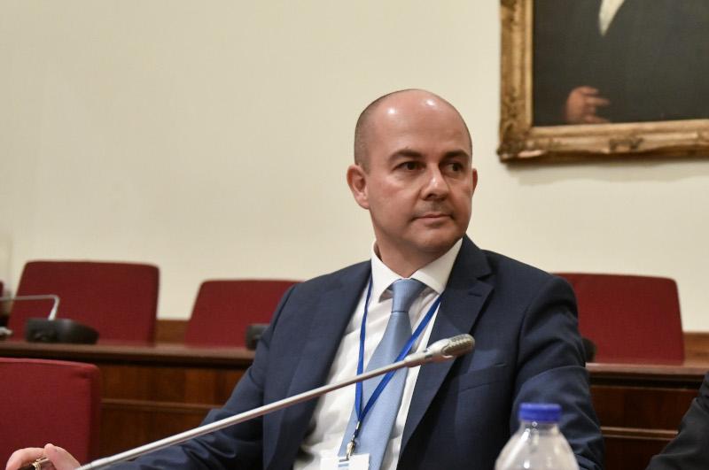 Ο διευθύνων σύμβουλος των Ε.Α.Σ. Νικόλαος Κωστόπουλος