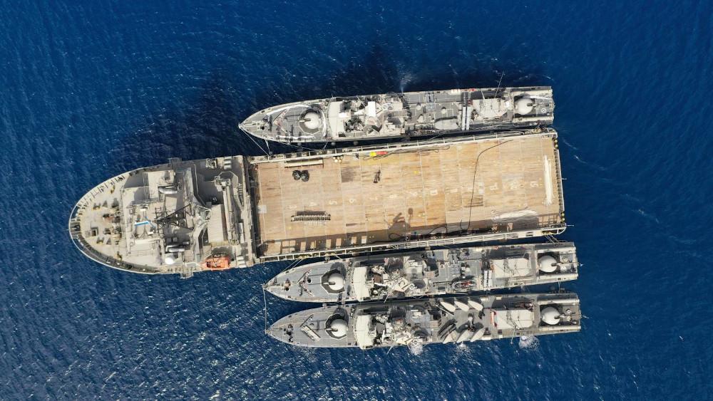 Ολοκληρώθηκε η άσκηση «Λόγχη» του Πολεμικού Ναυτικού