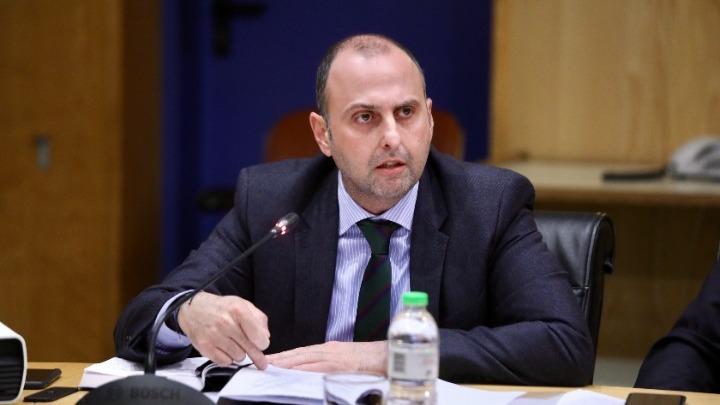 Ο Γενικός Γραμματέας Υποδομών Γιώργος Καραγιάννης