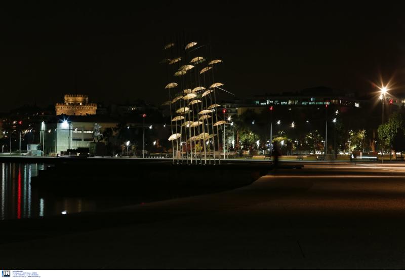 Το lockdown ερήμωσε τη Θεσσαλονίκη