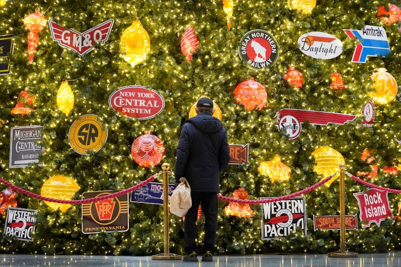 Χριστουγεννιάτικος στολισμός στο Σικάγο