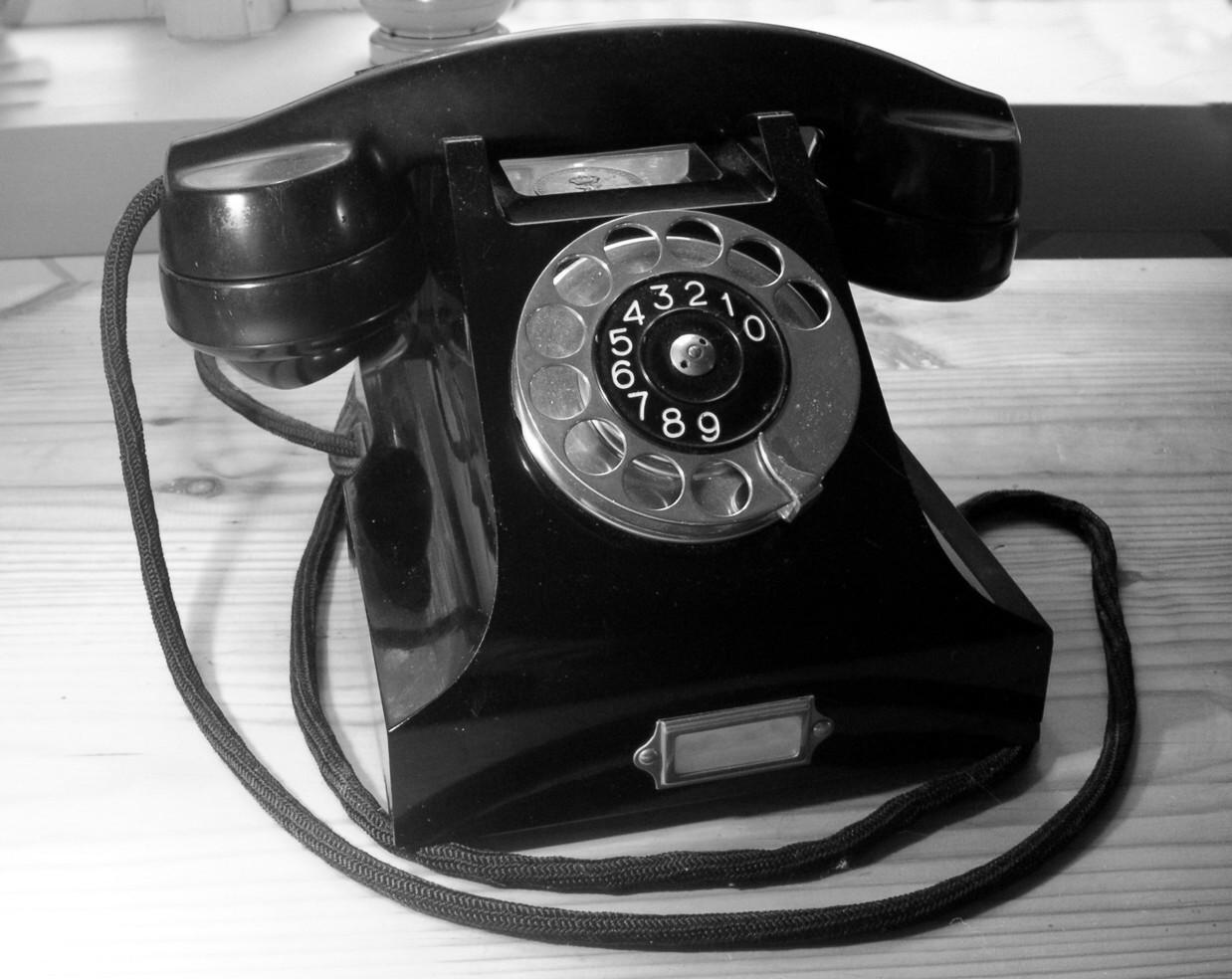 Παλιά συσκευή τηλεφώνου