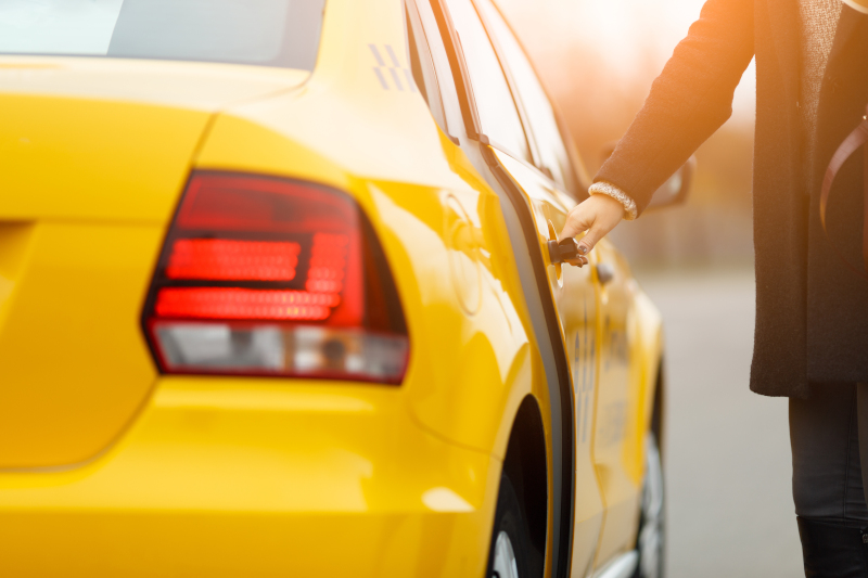 ταξί πελάτης