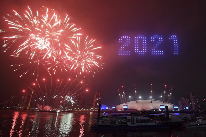 Περιορισμένοι οι εορτασμοί της Πρωτοχρονιάς και στο Λονδίνο