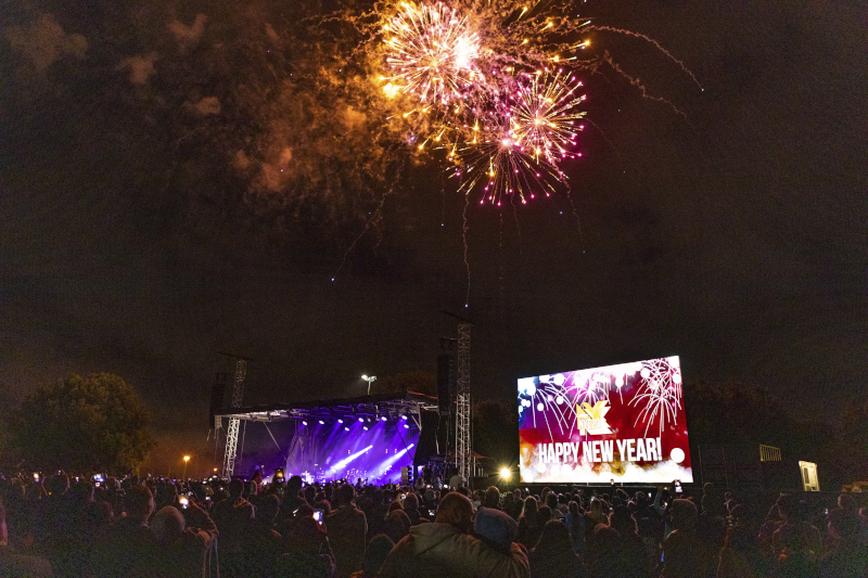 Η Νέα Ζηλανδία είναι η μόνη χώρα που ο κόσμος μπόρεσε να γιορτάσει την Πρωτοχρονιά με μια λαμπερή εκδήλωση