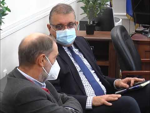 Συνάντηση του Δημάρχου Σερρών με τον Αθανάσιο Εξαδάκτυλο για την αύξηση των εμβολιασμών
